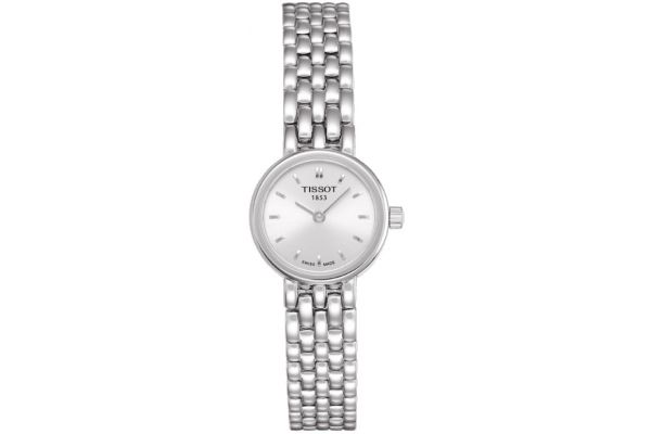 Large image of Tissot Lovely Stainless Steel Womens Watch - T0580091103100