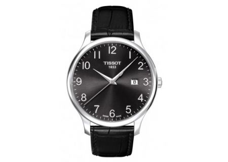 Tissot Black Dial Tradition Gent Mens Watch  - T063.610.16.052.00