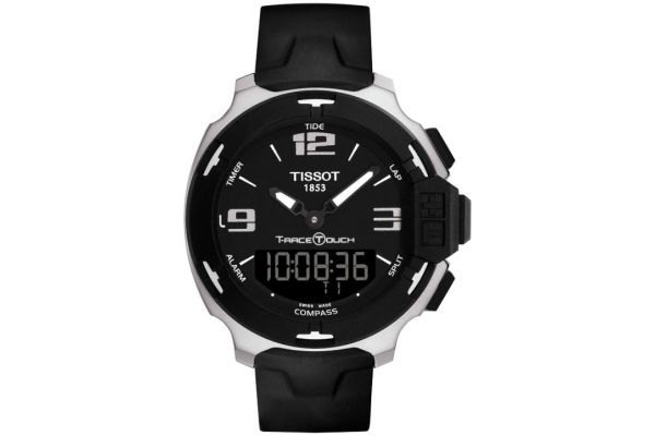 Large image of Tissot T-Race Touch Black Mens Watch - T0814201705701