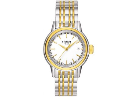 Tissot Carson Stainless Steel Quartz Ladies Watch - T0852102201100