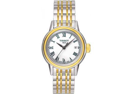 Tissot Carson Quartz Womens Watch - T085.210.22.013.00