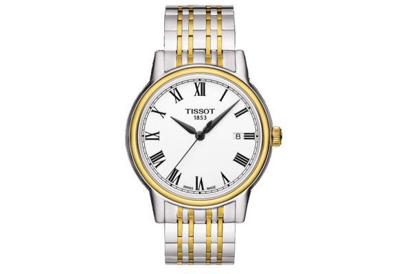 Large image of Tissot Carson Silver Quartz Mens Watch  - T0854102201300