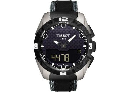 Tissot T-Touch Expert Solar Black Mens Watch - T0914204605101