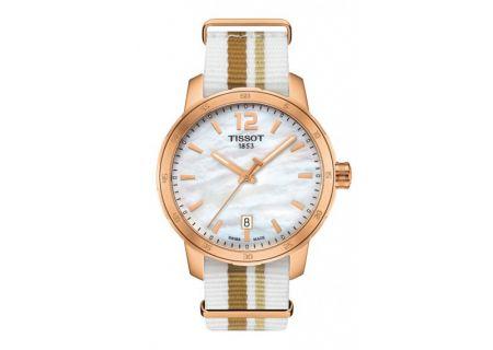 Tissot Quickster Rose Gold And White Quartz Unisex Watch  - T0954103711700
