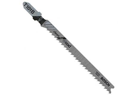 "Bosch Tools 100 Pieces 4"" 10V TPI Clean Wood Cutting T-Shank Jig Saw Blades - T101B100"