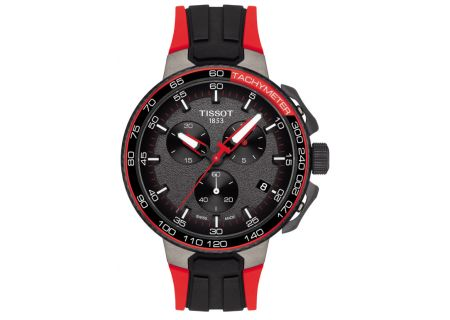 Tissot T-Race Cycling Vuelta Collection Black And Red Mens Watch  - T1114173744101