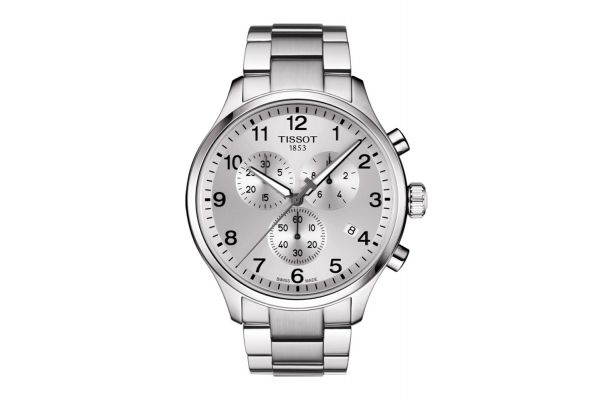 Large image of Tissot Chrono XL Classic Stainless Steel Mens Watch - T1166171103700