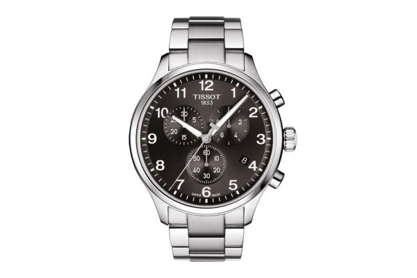 Large image of Tissot Chrono XL Classic Stainless Steel Mens Watch - T1166171105701