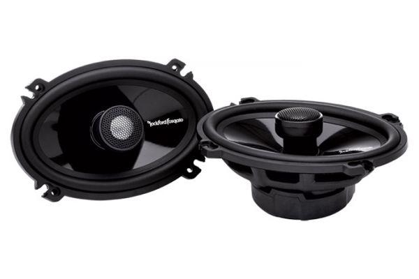 """Large image of Rockford Fosgate 4"""" x 6"""" Power Series 2-Way Full Range Speakers (Pair) - T1462"""