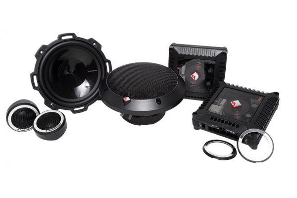 "Large image of Rockford Fosgate 5.25"" Power Series 2-Way Component System - T152-S"