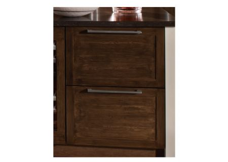 "Thermador 24"" Custom Panel Ready Handles Under-Counter Double-Drawer Refrigerator - T24UR800DP"