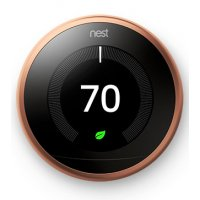 Nest Learning Smart Thermostat 3rd Generation, Copper