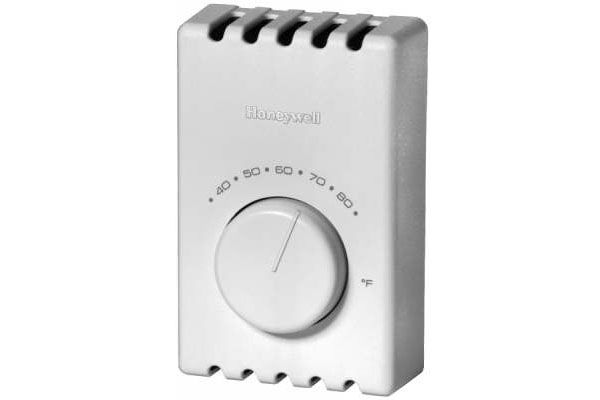 Large image of Honeywell White Electric Heat Thermostat For  Baseboard Heat - T410B1004