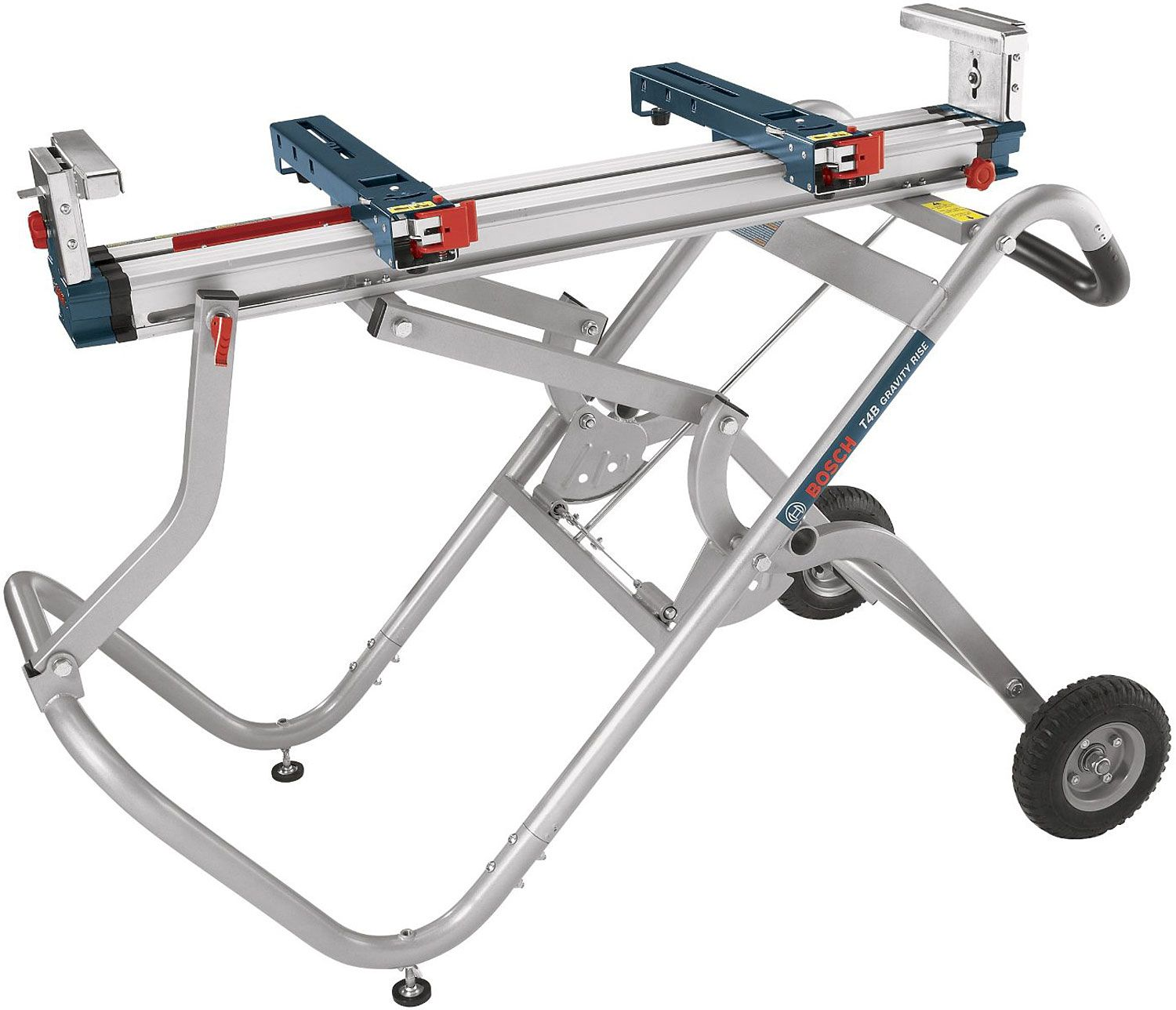 Bosch Tools Gravity Rise Wheeled Miter Saw Stand T4b
