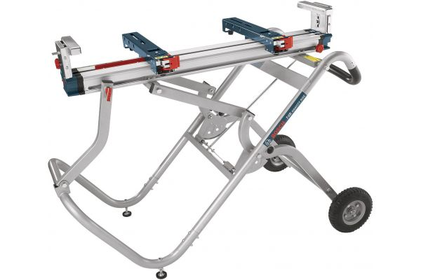 Large image of Bosch Tools Gravity-Rise Wheeled Miter Saw Stand - T4B