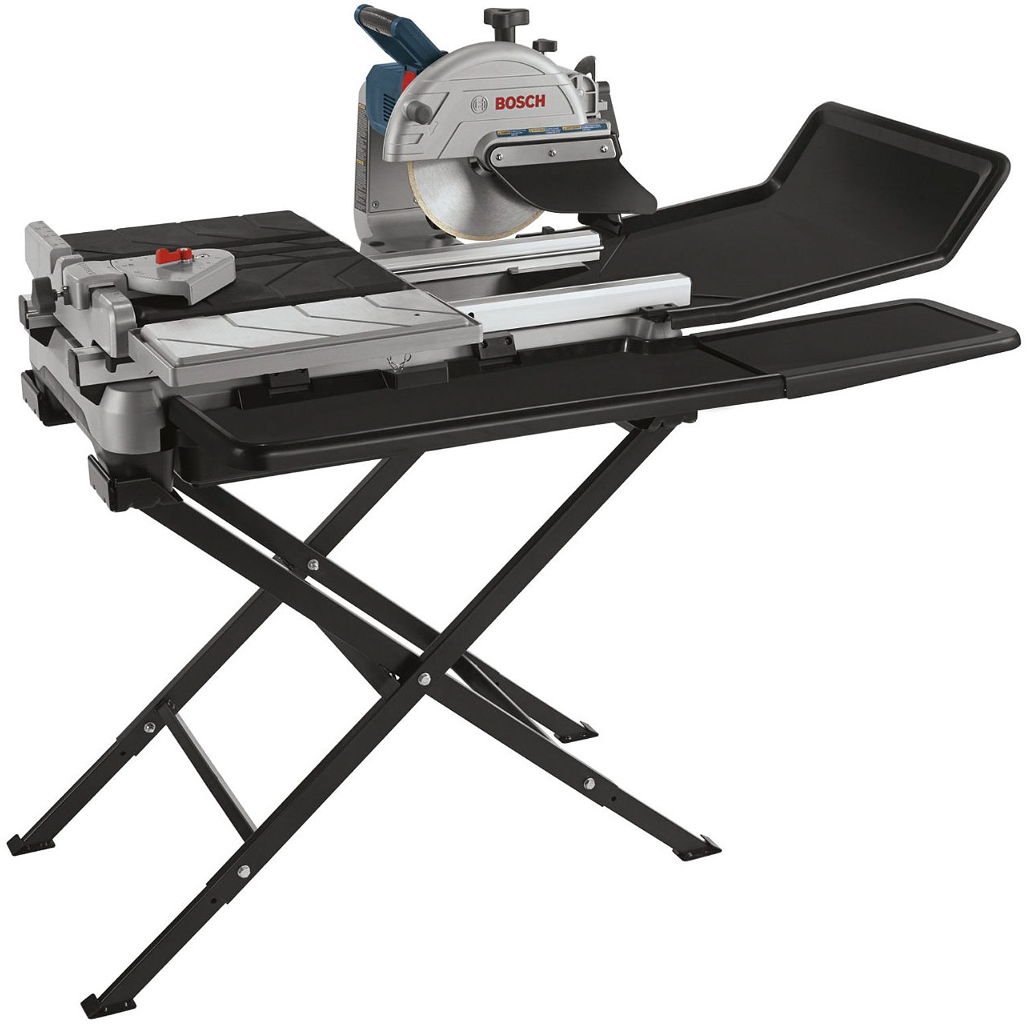 Bosch 10 Wet Tile Stone Saw W Folding Stand Tc1007