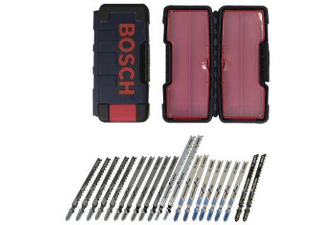 Bosch Tools 21 Piece T-Shank Jig Saw Blade Set For Multiple Materials  - TC21HC