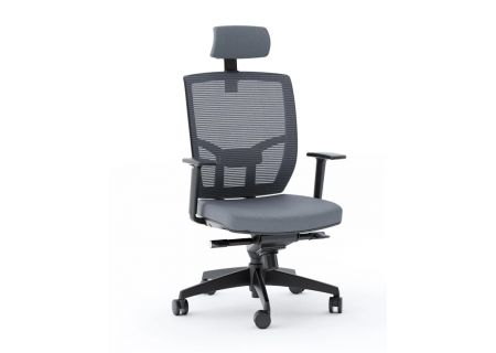 BDI  TC-223 Grey Mesh Task Chair  - TC223DHFGRY