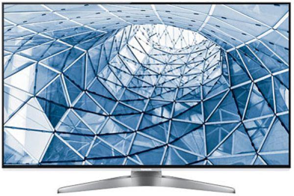 """Large image of Panasonic 55"""" Silver 1080P 3D Smart Viera LED HDTV - TCL55WT50"""