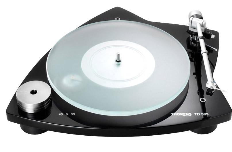 Thorens TD 309 Tri-Balance Black Gloss Turntable -TD309BK
