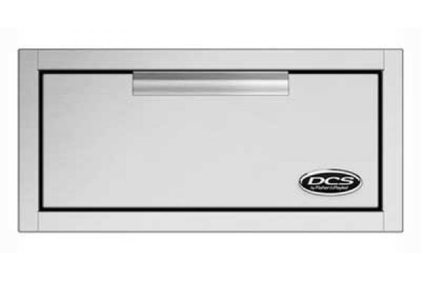 DCS Brushed Stainless Steel Outdoor Single Storage Tower Drawers - TDS1-20