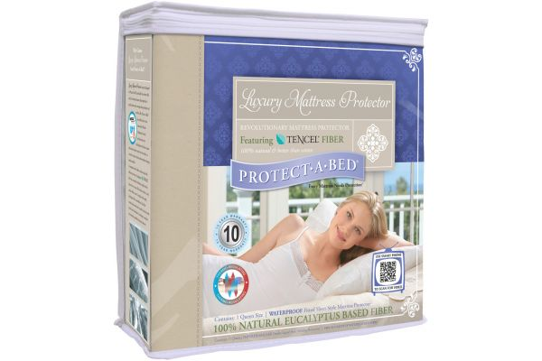 Large image of Protect-A-Bed Full Waterproof Mattress Protector - TEN0128