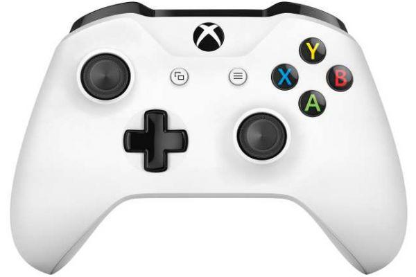 Microsoft Xbox One White Wireless Controller - TF5-00002