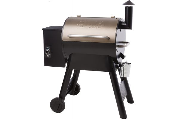Large image of Traeger Bronze Pro Series 22 Wood Pellet Grill - TFB57PZB