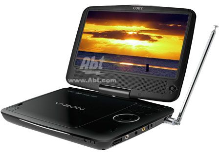 Coby - TFDVD9189A - Portable DVD Players