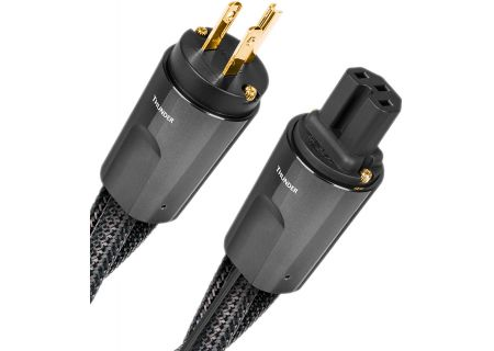 AudioQuest Thunder 6.6 Feet 15A Low-Z Noise-Dissipation 3-Pole AC Power Cable - THUNDER2M15A