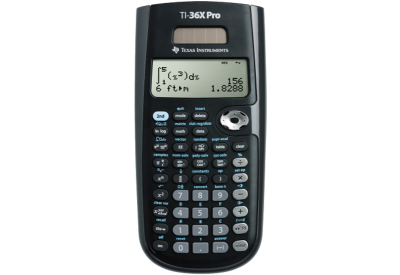 Texas Instruments - 36PRO/TBL/1L1/A - Calculators