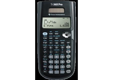 Texas Instruments - 36PRO/TBL/1L1/A - Calculators