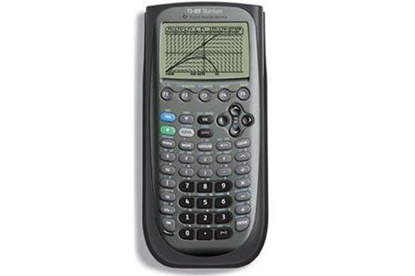 Large image of Texas Instruments TI-89 Graphing Calculator - 89T/CLM