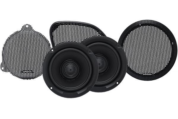 "Large image of Rockford Fosgate 6.5"" Power Harley-Davidson Full Range Speakers (Pair) - TMS65"