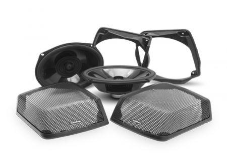 Rockford Fosgate Power Harley-Davidson Rear Audio Kit - TMS69BL9813
