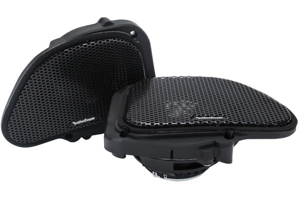 "Rockford Fosgate 6.5"" Power Harley-Davidson Road Glide Full Range Speakers (Pair) - TMS6RG"