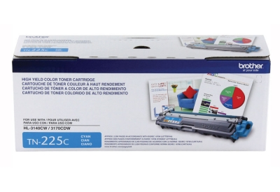 Brother - TN225C - Printer Ink & Toner