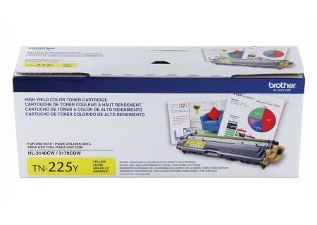 Brother High Yield Yellow Ink Toner - TN225Y
