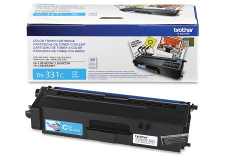 Brother - TN331C - Printer Ink & Toner