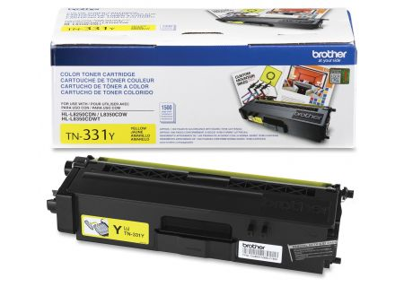 Brother - TN331Y - Printer Ink & Toner