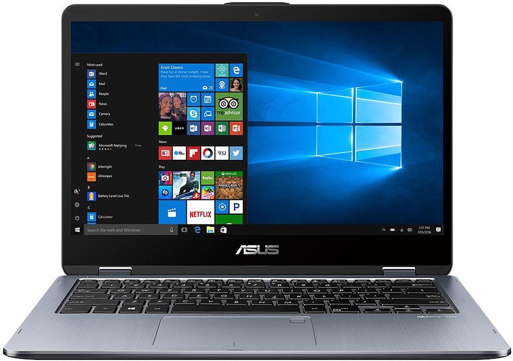 Asus Vivobook Flip Black 2 In 1 Laptop Tp410ua Mh51t