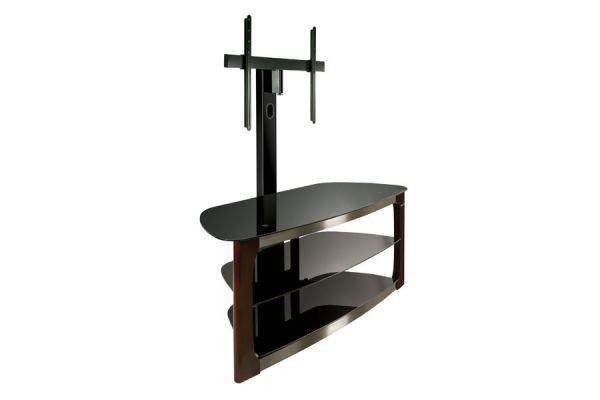 Large image of BellO Triple Play Universal Flat Panel Dark Espresso TV Mounting Stand - TPC2133