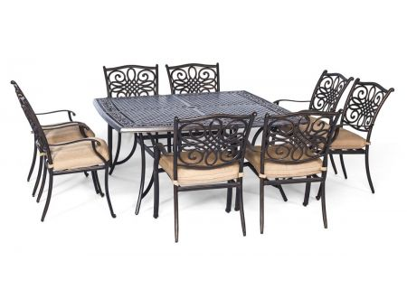 Hanover - TRADDN9PCSQ - Patio Dining Sets