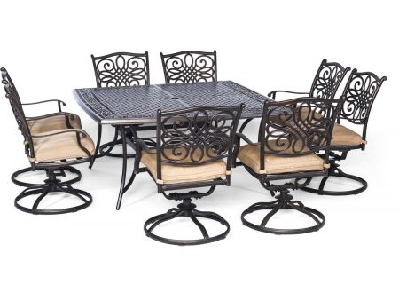 Hanover - TRADDN9PCSWSQ-8 - Patio Dining Sets