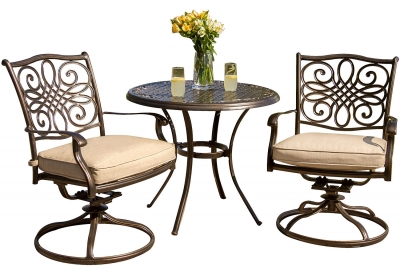 Hanover - TRADITIONS3PCSW - Patio Seating Sets
