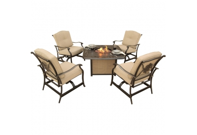 Hanover - TRADITIONS5PCFP - Patio Seating Sets