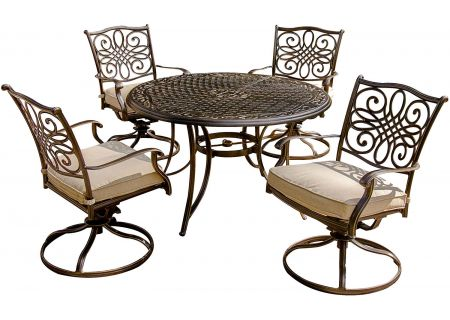Hanover - TRADITIONS5PCSW - Patio Dining Sets