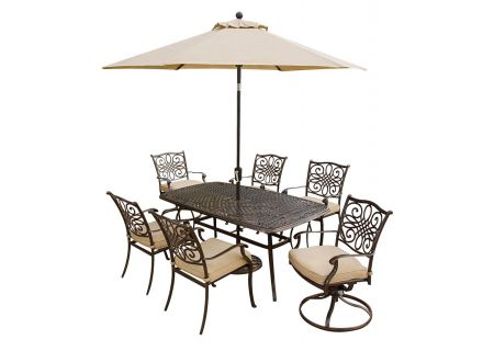 Hanover - TRADITIONS7PCSW-SU - Patio Dining Sets