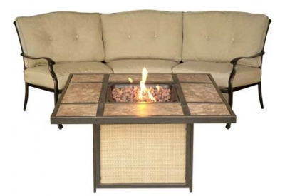 Hanover - TRADTILE2PCFP - Patio Seating Sets