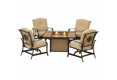 Hanover - TRADTILE5PCFP - Patio Seating Sets
